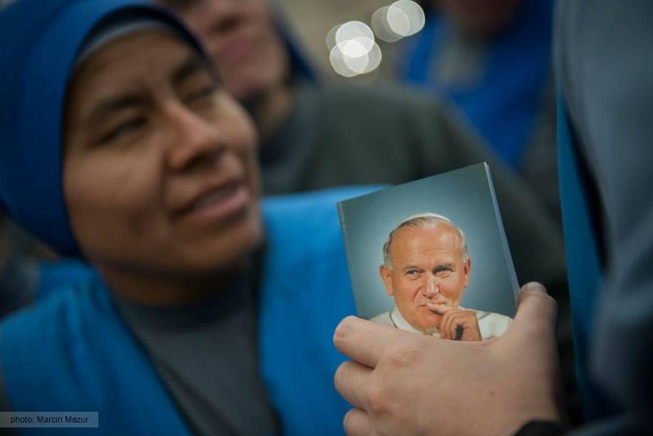 22.10.2015: Wspomnienie liturgiczne św. Jana Pawła II
