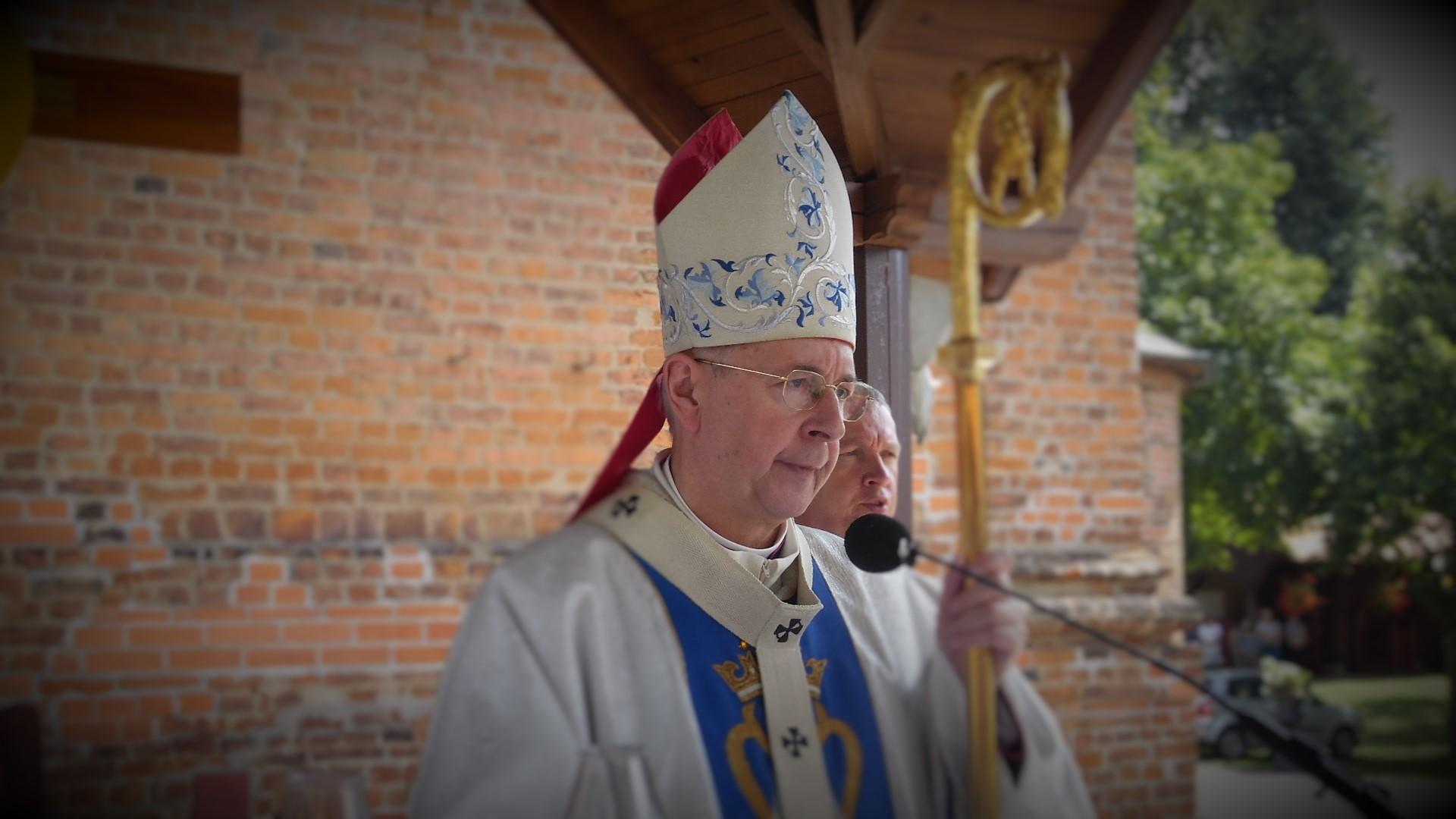 (Polski) Abp Gądecki dokona wmurowania kamienia węgielnego kościoła pw. św. Jana XXIII w Komornikach