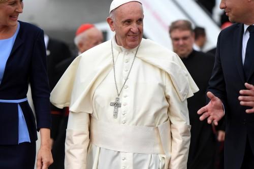 Ojciec Święty Franciszek już w Polsce!