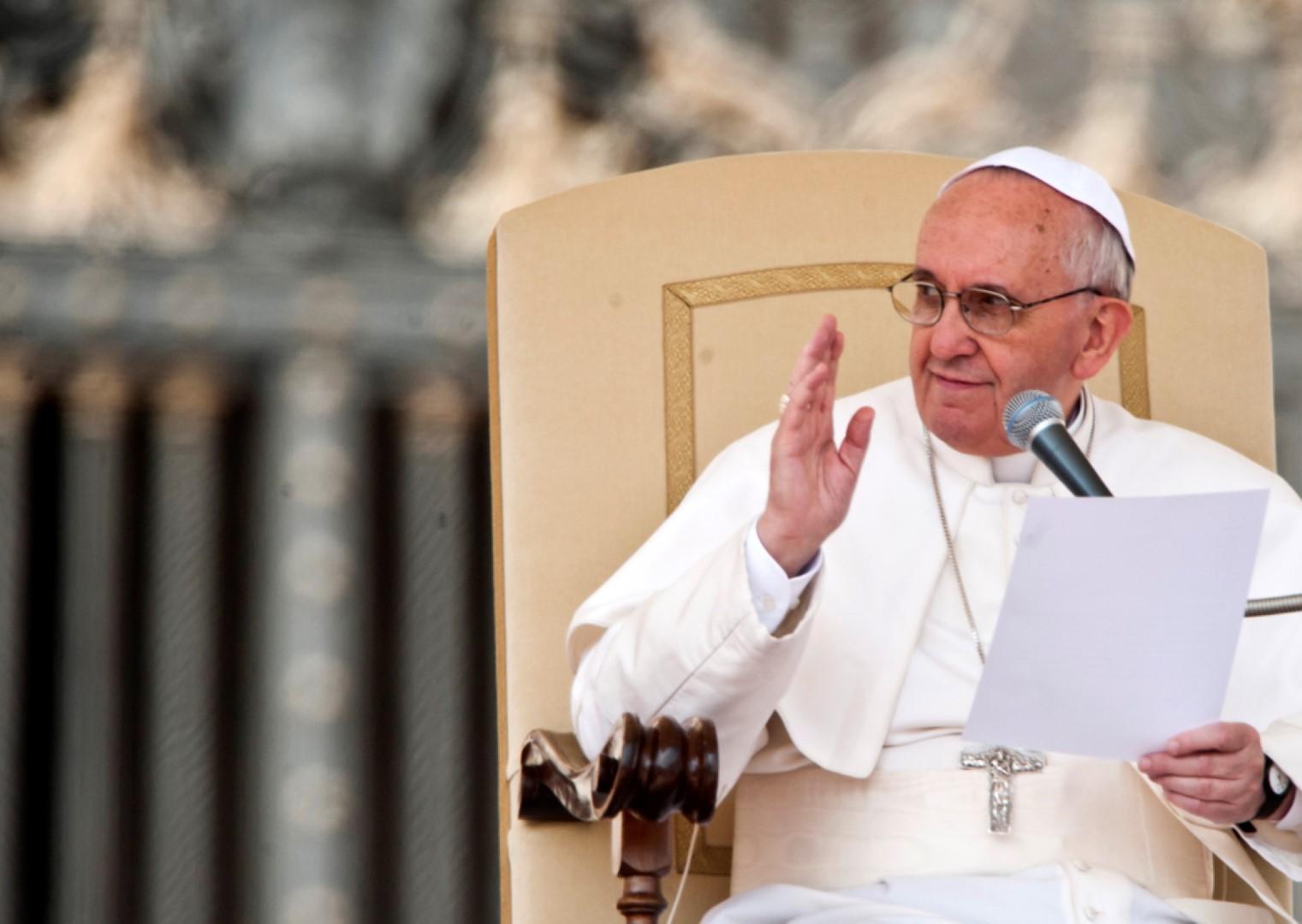 Orędzie Ojca świętego Franciszka Na Wielki Post Konferencja