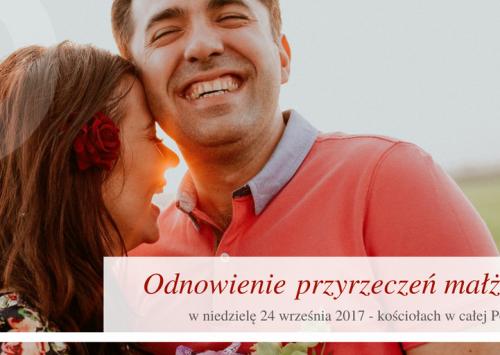 W niedzielę – modlitwa o trzeźwość i odnowienie przyrzeczeń małżeńskich