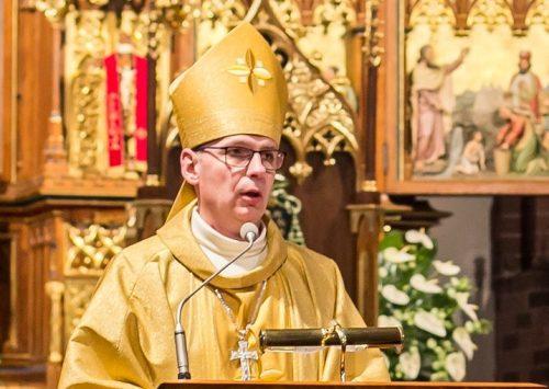 Ks. Janusz Ostrowski przyjął sakrę biskupią
