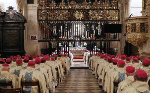 Rekolekcje biskupów ze św. Franciszkiem z Asyżu