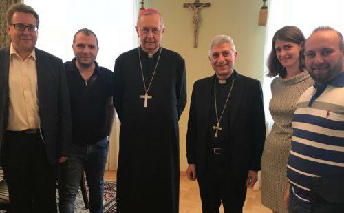 Abp Aleppo podziękował Przewodniczącemu Episkopatu za wsparcie dla Syrii