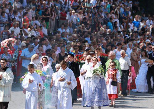 Główne uroczystości ku czci Wniebowzięcia NMP w Kalwarii Zebrzydowskiej