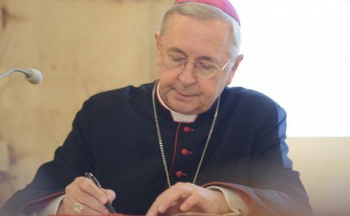 Pozdrowienia Przewodniczącego Episkopatu dla abp. Paula Gallaghera