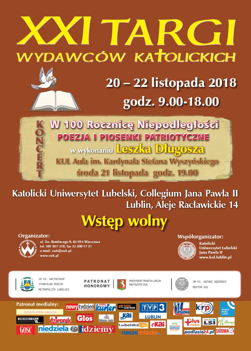 Polski Zaproszenie Na Xxi Targi Wydawców Katolickich Konferencja