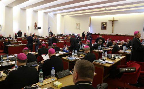Wybory 382. Zebrania Plenarnego KEP