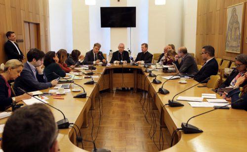 Przewodniczący Episkopatu spotkał się z zagranicznymi dziennikarzami