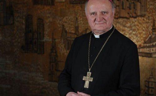 """Przewodniczący Episkopatu po śmierci bp. Stefanka:Jego życie opisują słowa""""We wszystkim Chrystus"""""""