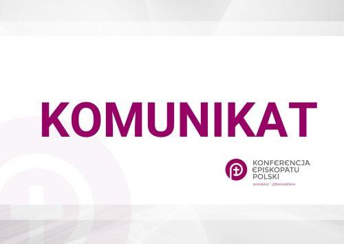(Polski) Rzecznik Episkopatu: przełożone Zebranie Plenarne Episkopatu, będą obrady Rady Stałej
