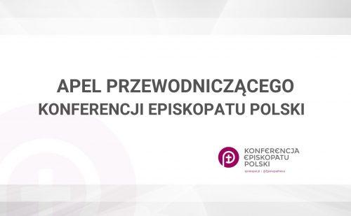 Przewodniczący Episkopatu: zachęcam do porozumienia ponad podziałami w sprawie wyborów prezydenckich