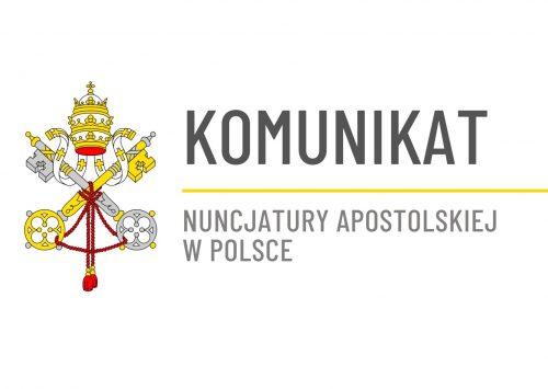Komunikat Nuncjatury