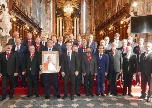Przewodniczący Episkopatu złożył gratulacje nowemu Delegatowi Stanowemu Rycerzy Kolumba w Polsce