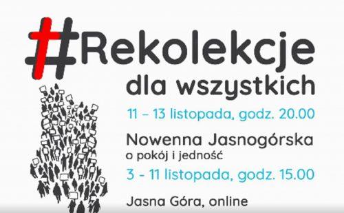 (Polski) 11 listopada na Jasnej Górze – narodowe rekolekcje on-line
