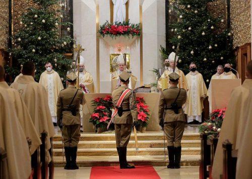 Msza Św w 30. rocznicę przywrócenia Ordynariatu Polowego