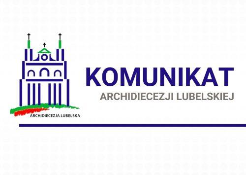 (Polski) Komunikat Archidiecezji Lubelskiej